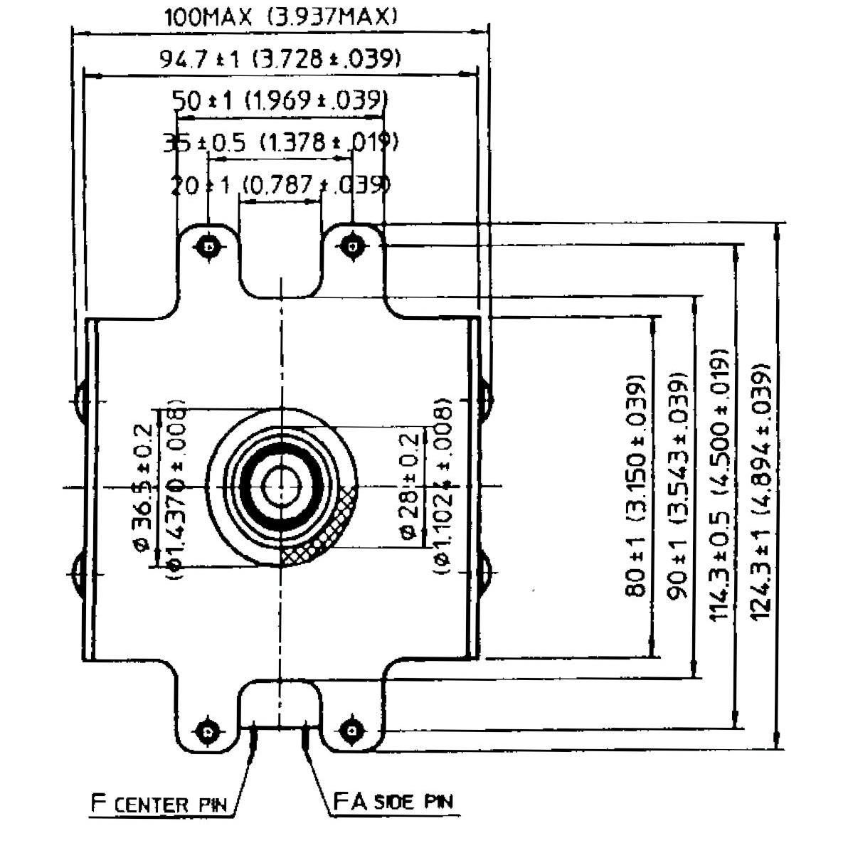 1 25kw 1250w Magnetron Microwave Yj1540